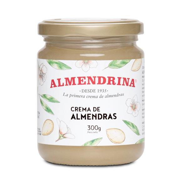 Crema de almendras de Almendrina