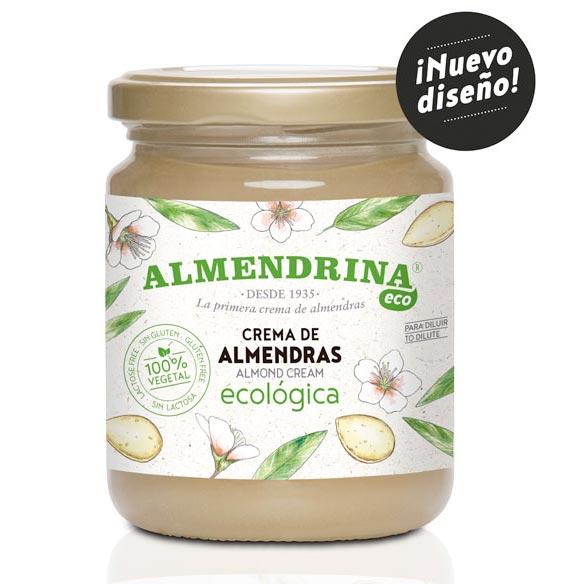 Crema de Almendras ecológica 400g de Almendrina