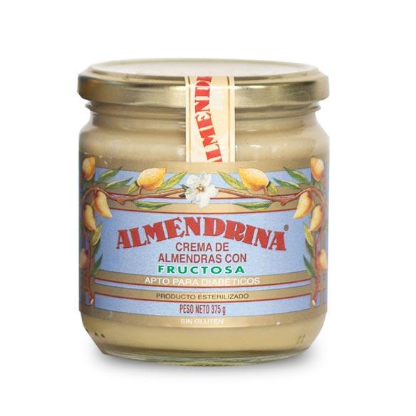 Crema de almendras con fructosa de Almendrina