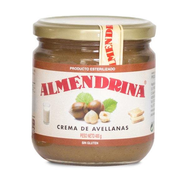Crema de avellana de Almendrina