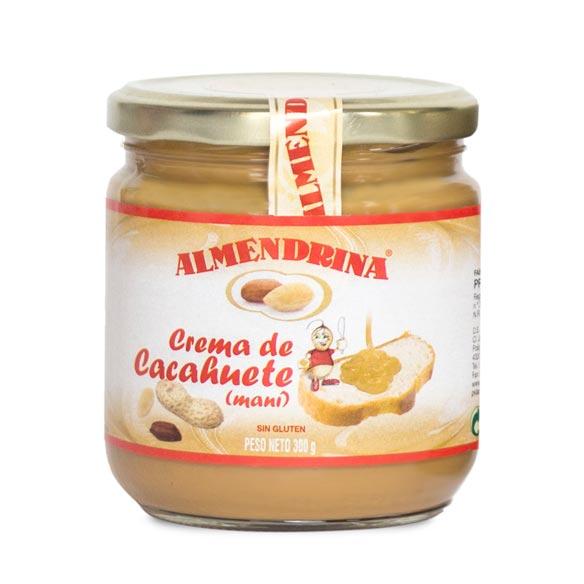Crema de cacahuete Almendrina