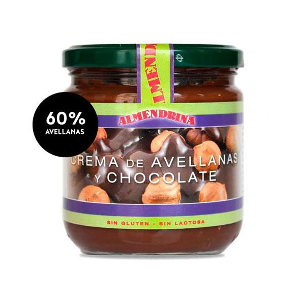 Crema ECO de avellana/chocolate de Almendrina