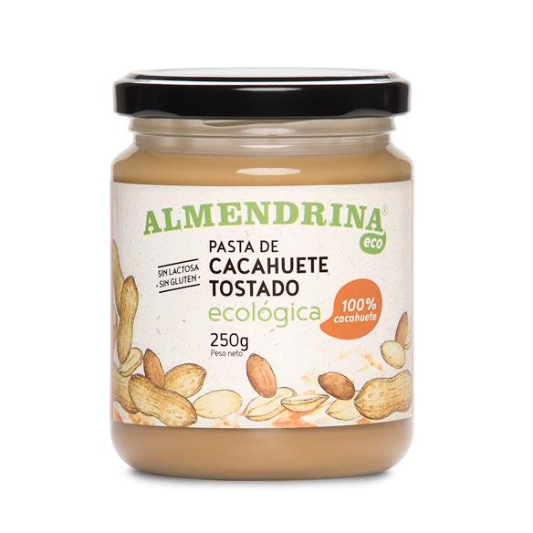 Pasta de cacahuete tostado de Almendrina