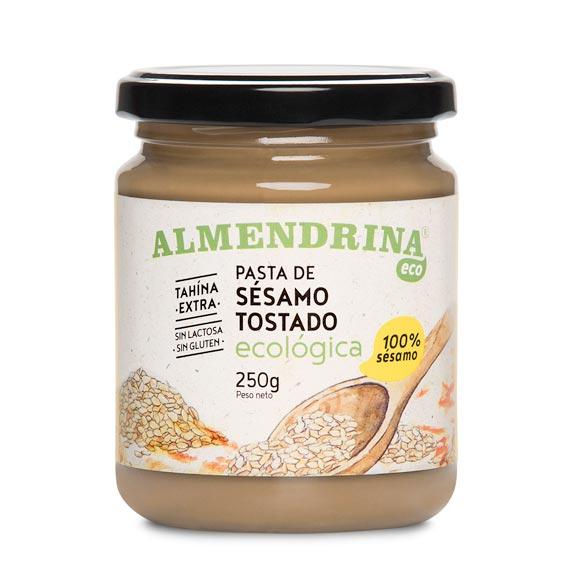 Pasta de sésamo tostado de Almendrina